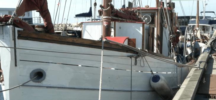 TV Nordsjælland: Knud Rasmussens ekspeditionsskib lagde til kaj i Hundested