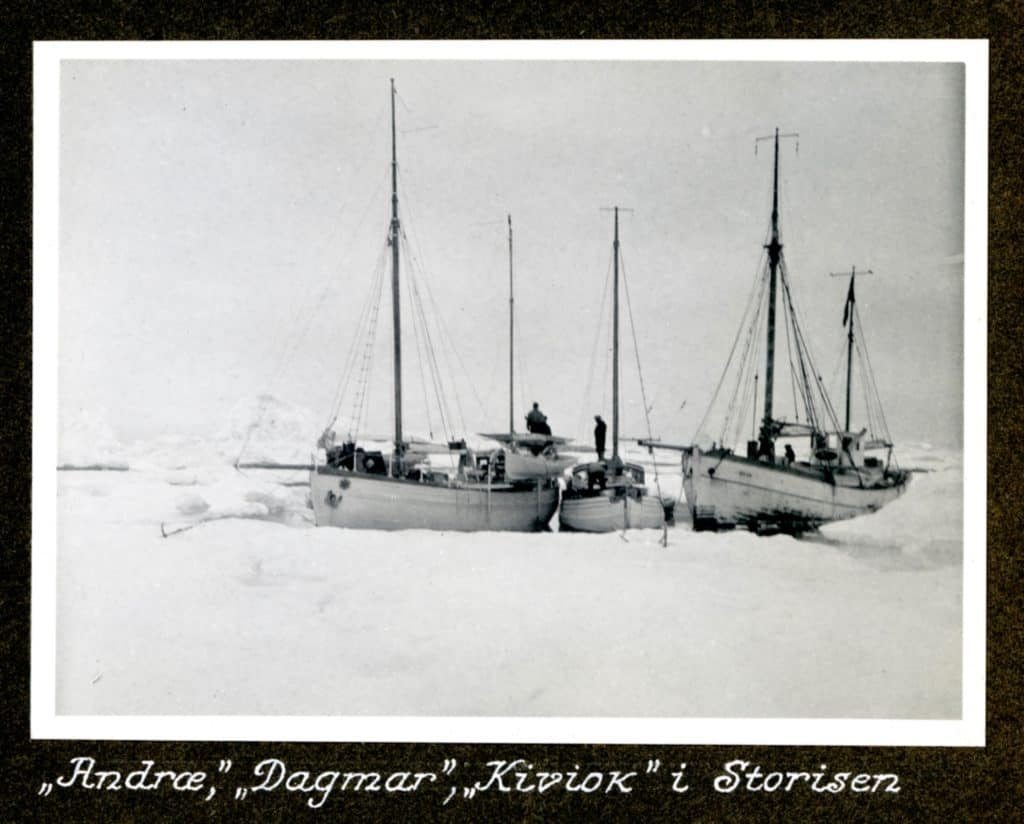 Kivioq foto fra Knud Rasmussen Arkivet - 11