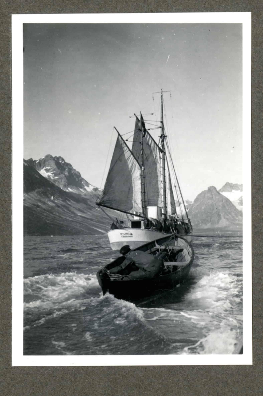 Kivioq foto fra Knud Rasmussen Arkivet - 13