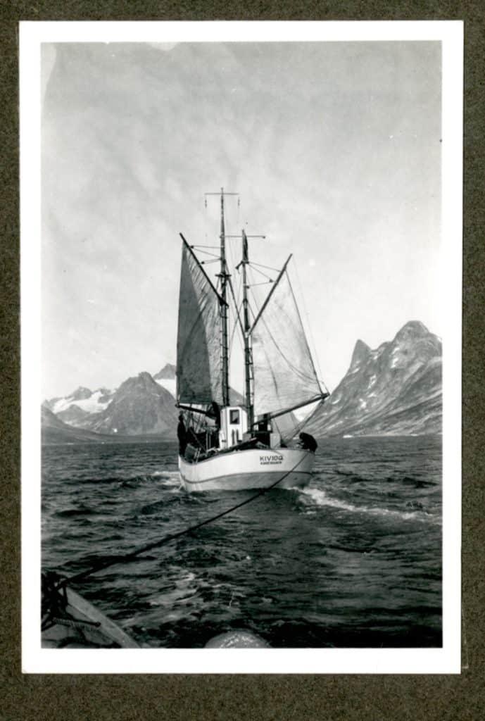Kivioq foto fra Knud Rasmussen Arkivet - 2