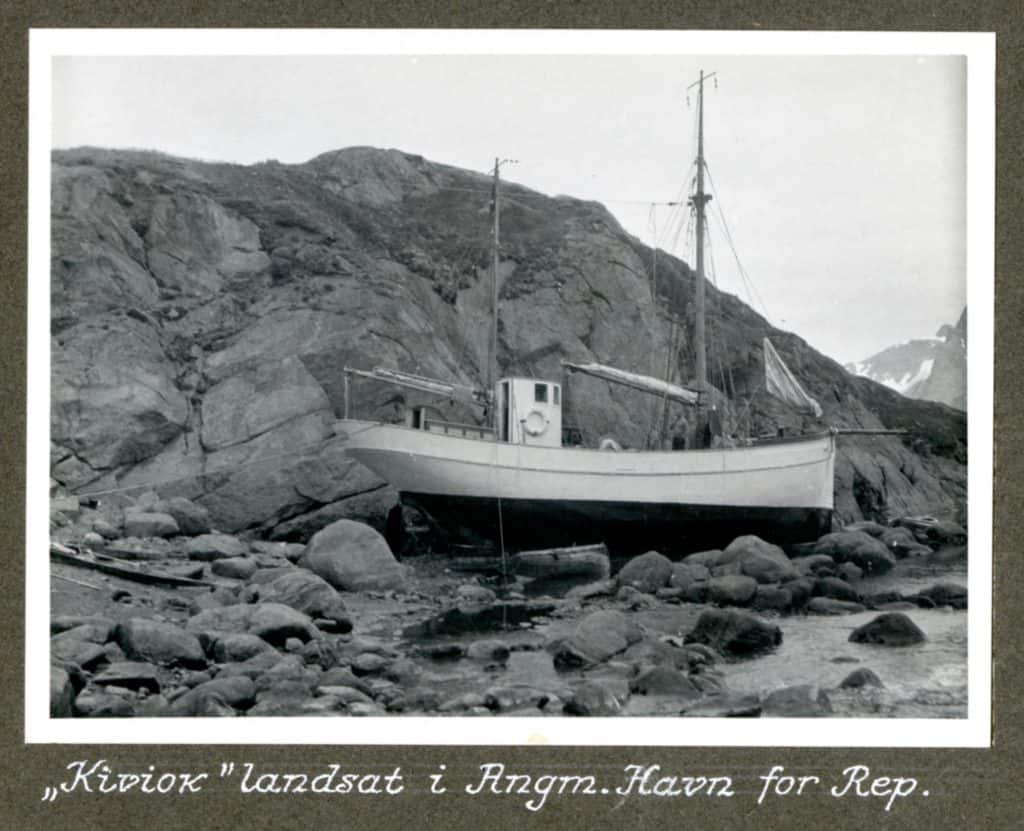 Kivioq foto fra Knud Rasmussen Arkivet - 9