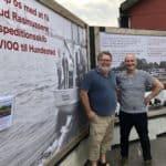 Kivioq-projektet løber med bedste reklameplads i Hundested Havn
