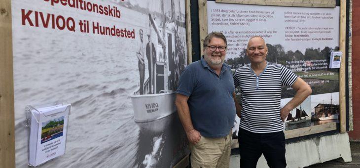 Kivioq-projektet får havnens bedste reklameplads