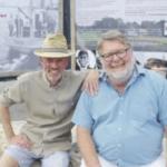 Jens Henriksen og Per Makwarth, næstformand og formand i KIVIOQs VENNER HUNDESTED