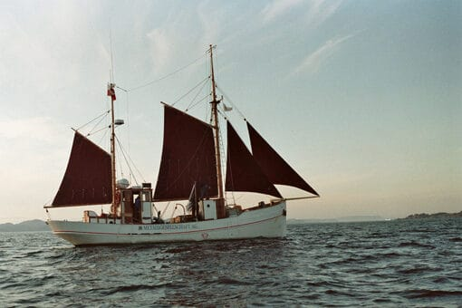 Åbent skib på Kivioq